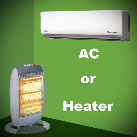 Which is better for Winter? AC or Heater